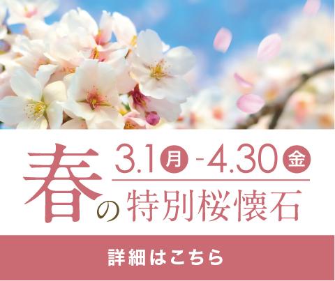 春の特別桜懐石ランチ
